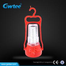 Lanterna solar LED recarregável