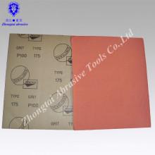 Schleifwerkzeug Typ Wasser Sandpapier