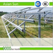 100 МВт солнечной монтажа структура для больших масштабах солнечной PV электростанции