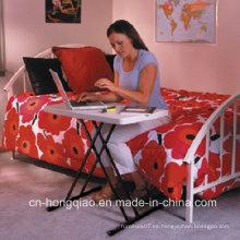 Escritorio plegable portable ligero barato pequeño de la escritura plegable para el estudio de los niños