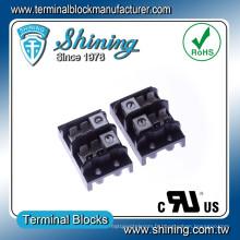 TGP-085-02A 85A 2 Pole LED Alimentation Distribution Terminal Connector