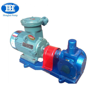 Horizontal Rotary Circular Gear Diesel Transfer Crude Oil Pump