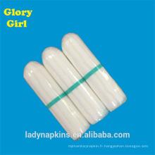 Tampons numériques personnels en coton rayonne avec une taille légère pour 5-7 jours