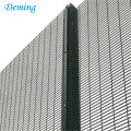 PVC painting welded anti climb mesh fence