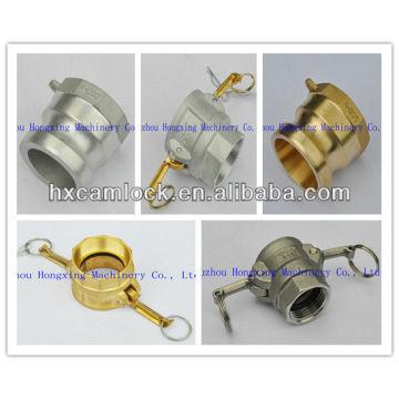 Acoplamiento hembra SS316 / aluminio / latón / PP