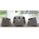 PE rattan weaving 4 seater sofa set Bedroom Modern egyptian bedroom furniture MCD1012