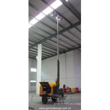 Torre de iluminación móvil de la torre / de la torre de la iluminación del generador diesel de 18 kVA Perkins (NPLT18.5-P)