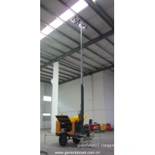 18 kVA Perkins Diesel Generator Mobile Lighting Tower / Tower Light (NPLT18.5-P)