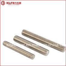 B8 B8m Ss304, Ss316 Stainless Steel Stud Bolt