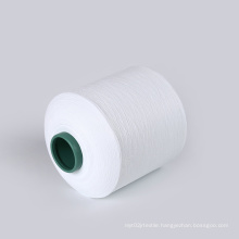 Free samples recycle polyester  yarn 150 yarns recycle for woven label