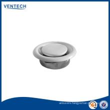 Air ventilation plastic disc valve