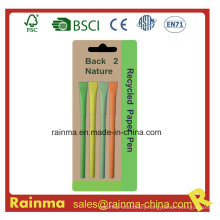 Color Paper Ballpoint Pen with Nice Design