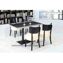 Chaise et table de salle à manger en chêne Soild Wood