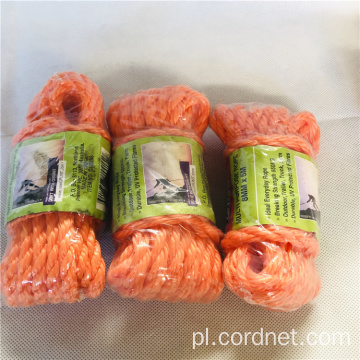 PE / PP 3 sploty Twist Rope Of Floor Cena