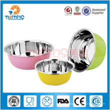 colorful stainless steel soup tureen set