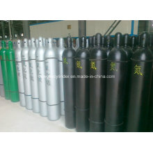 Sell High Pressure Seamless Steel Nitrogen, Oxygen, CO2, Argon Gas Cylinder