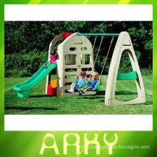 Children Playground Equipment With Swing