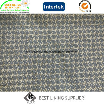 Classic Bird Pattern 100 Polyester Men′s Suit Dobby Lining Fabric