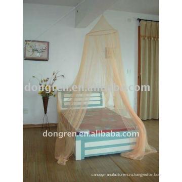 Круглая сетка для москитов и навесы для постельных принадлежностей нового стиля