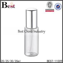 25 ml 30 ml 35 ml cosmétique parfum vaporisateur vide vide ronde parfum vaporisateur atomiseur verre vaporisateur parfum bouteille 20 ml