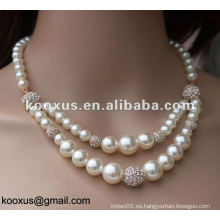 Joyería de perlas de agua dulce conjuntos