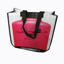 Imprimindo o saco de compra não tecido relativo à promoção do presente da laminação de BOPP
