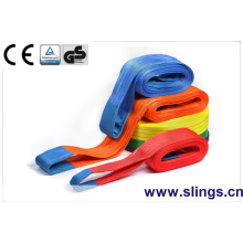 Sling sangle de levage en polyester 1t-20t Sling En1492 CE GS sangle