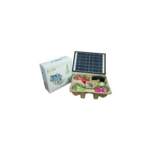 3W*3 Mini solar lights kits for camping lighting with CE & Patent
