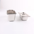 Stainless Steel US Style Buffet Container gn Gastronorm Pan for Chef with Lid