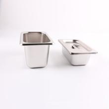 Edelstahl-US-Art-Buffet-Behälter gn Gastronorm Wanne für Chef mit Deckel