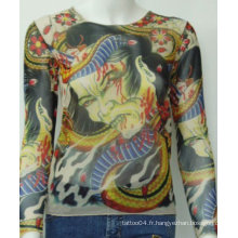 2012 Hot Sale Tattoo T-shirt / Sleeves Product