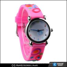 Relógios de quartzo para crianças relógio de banda de silicone à prova d'água