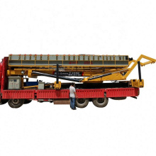 Hydraulic Rising Lifting Platform Table Equipment For Roofing Tile Rolling Machine