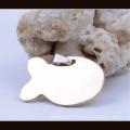 Promocional Barato Por Atacado Pet Tag de Identificação Chinês Fornecimento de Código QR Tag Em Branco Tag de Cão