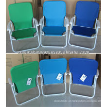 Exterior brasileira cadeira dobrável, cadeira dobrável de praia jardim