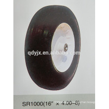 "solid rubber wheel 16""X4.00-8"