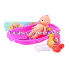 Brinquedo barato vendendo do banho do bebê do vinil barato