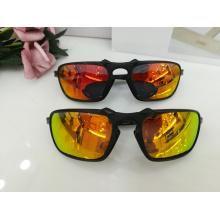 Oval gafas de sol de cuadro completo para hombres por mayor