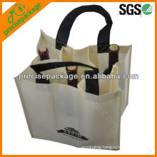 Actual image 2013 new 6 bottle non woven wine bag (PRB-904)