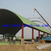 Bh1000-750 Bau einer Stahlbogen-Dachprojektmaschine