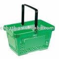 Plastic shopping basket/plastic supermarket basket