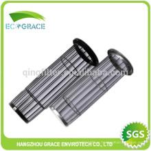 Bolsa de filtro jaula Bolsa de filtro de acero galvanizado Jaula