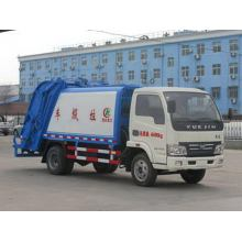YUEJIN 6CBM Compression Rubbish Truck