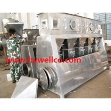 Horizontal Fluidized-Bed Drying Machine