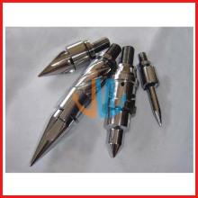 Tornillo de inyección y piezas de barril para máquina de moldeo por inyección