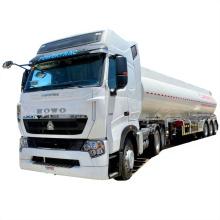 Tanque de transporte de petróleo semirremolque camiones cisterna de suministro de combustible