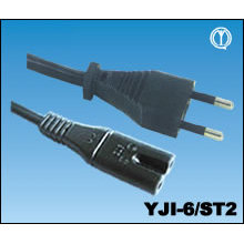 Italy IMQ Power Cord with IEC Connector C7