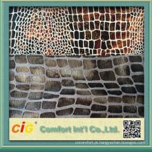 2015 Novo Tecido de Camurça Bronzing Design para Estofados