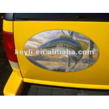Car Advertising Magnet ,According to your design . good quality .