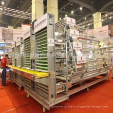 Chine populaire bonne qualité kenya poule ferme hot sale layer poultry batterie cages